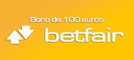 bono betfair 100 euros