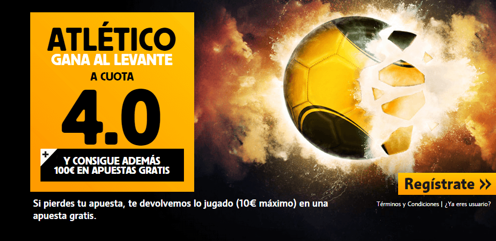atletico de madrid levante betfair