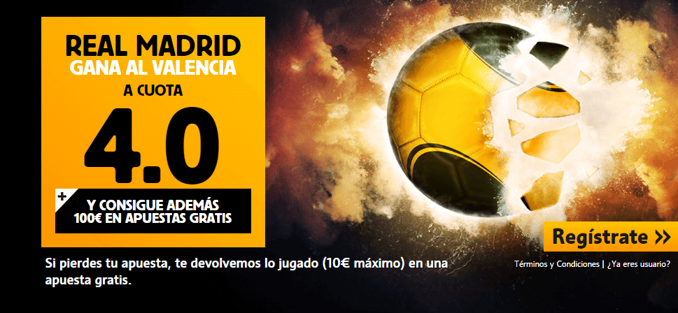 real madrid valencia betfair