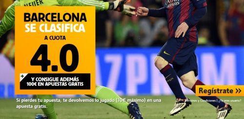 se clasifica barcelona