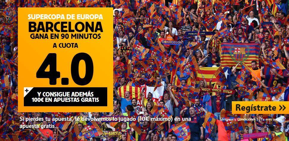 betfair supercopa de europa cuota