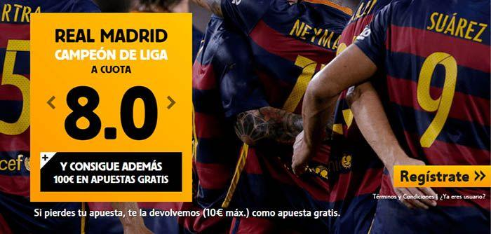barcelona o madrid campeon de liga betfair megacuota