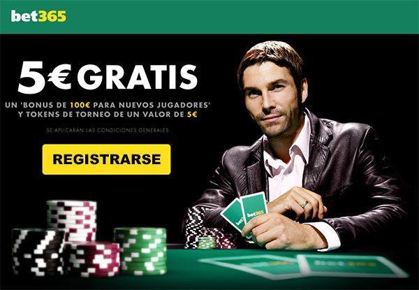 bono bet365 poker