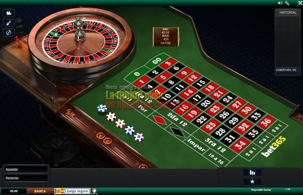 bet365 ruleta americana