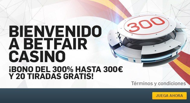 bono betfair casino 2017