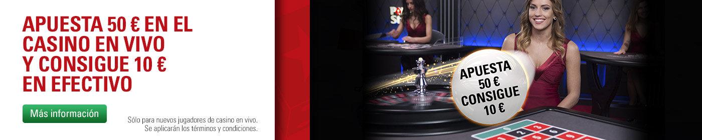 bono pokerstars casino