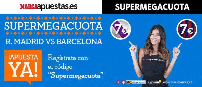 supercuota marca apuestas real madrid barcelona