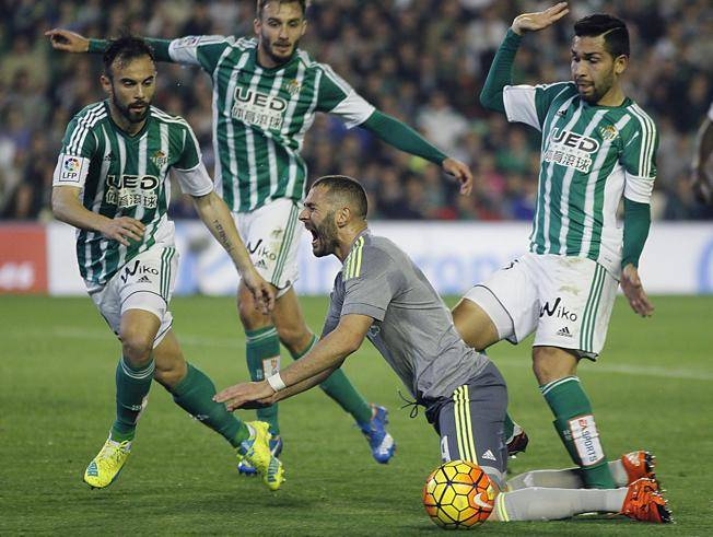 benzema betis real madrid