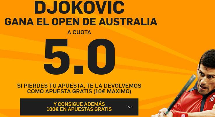 djokovic supercuota open australia 2016