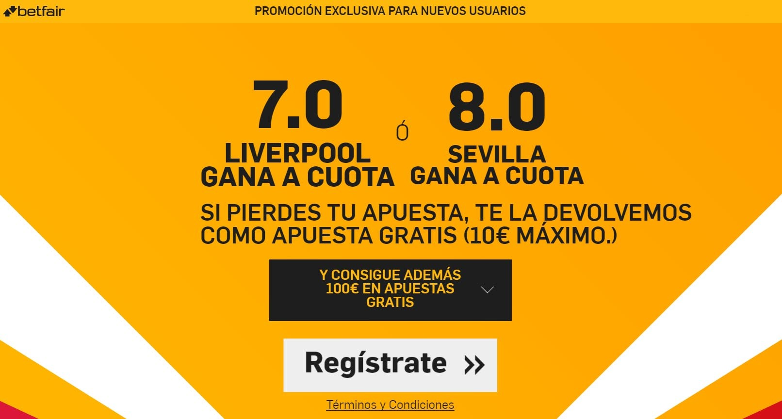 betfair supercuota liverpool sevilla europa league