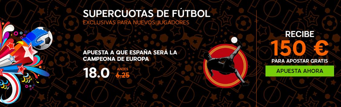 bono eurocopa 888 sport 150 euros