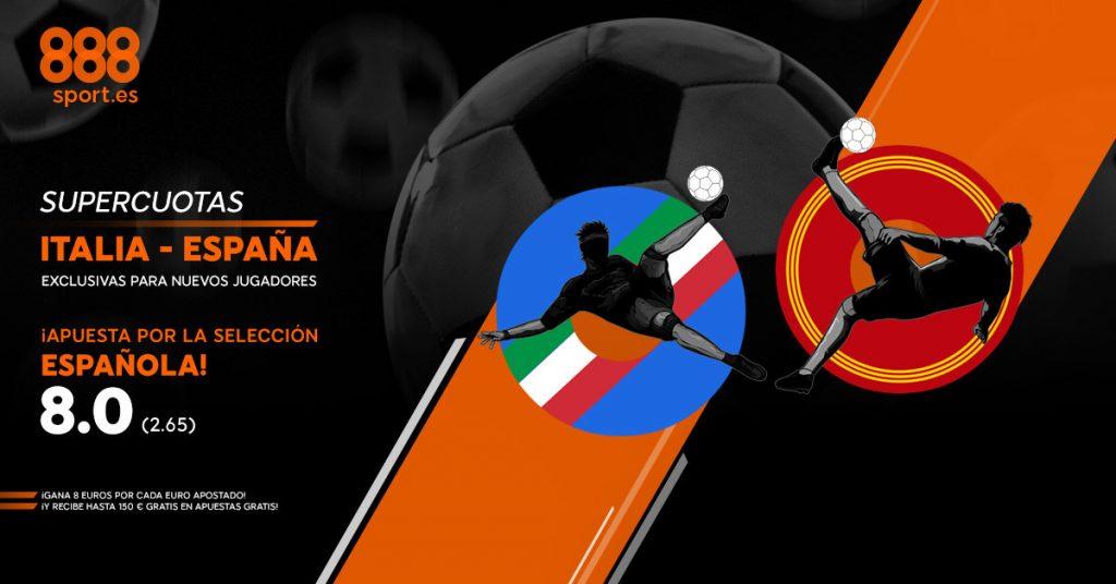 super-cuota-888-sport-italia-espana
