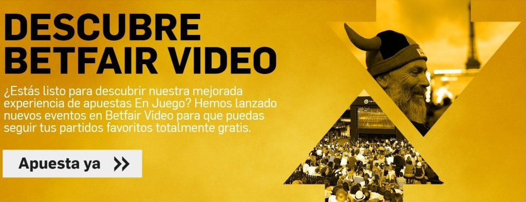 apuestas en directo betfair video
