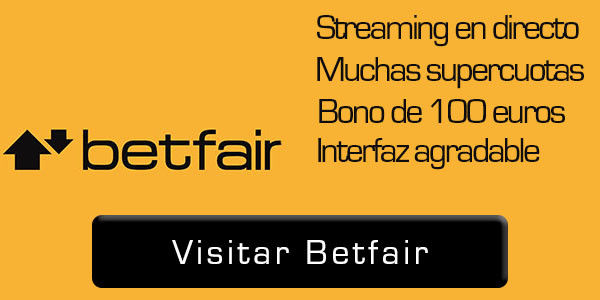 casas de apuestas con streaming betfair