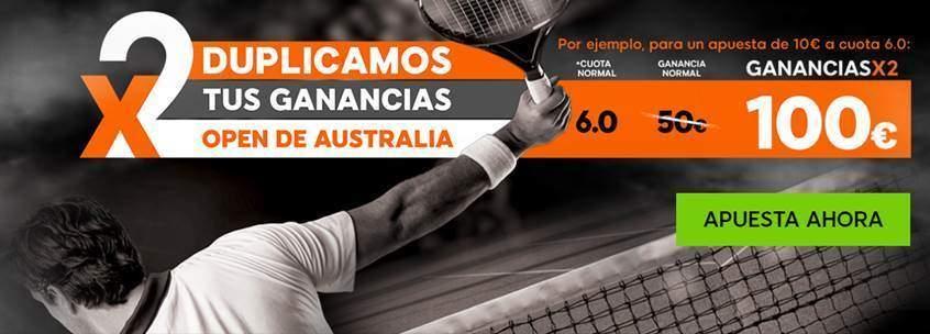 duplica ganancias open australia 888 sport