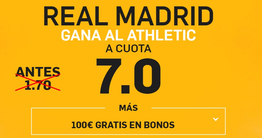 pronosticos apuestas athletic real madrid