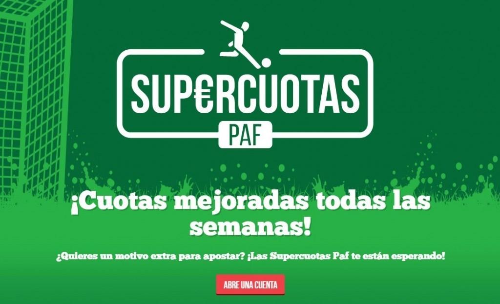 supercuotas paf