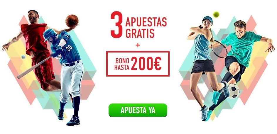 promociones sportium 3 apuestas gratis