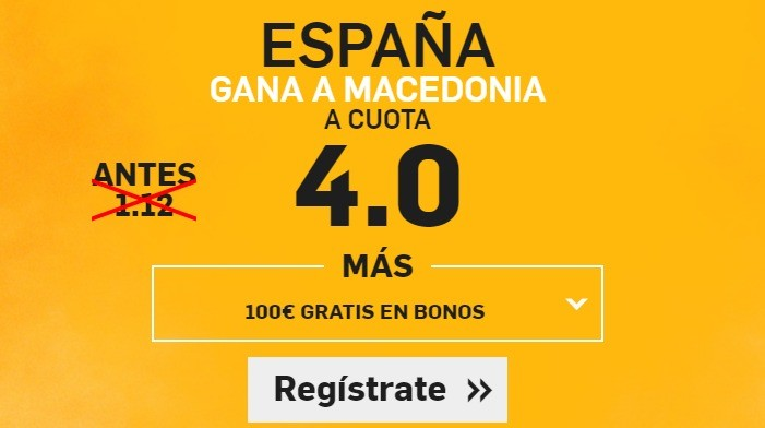 supercuota betfair macedonia españa