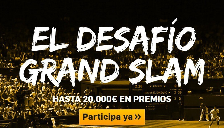 desafio grand slam betfair