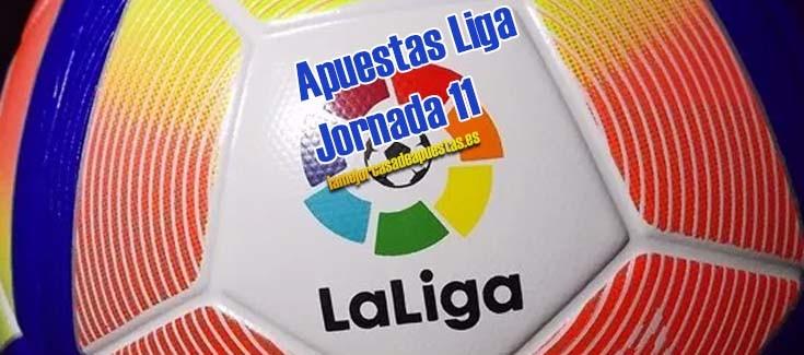 apuestas liga futbol jornada 11