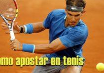 Cómo apostar en tenis: Trucos y consejos para ganar