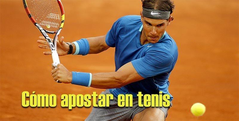 como apostar en tenis