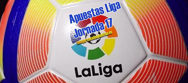 apuestas liga futbol jornada 17