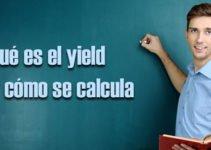 Que es el yield y como calcularlo