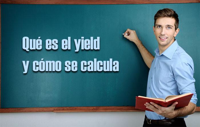yield que es como se calcula