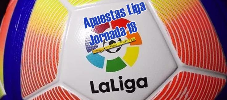 apuestas liga futbol jornada 18