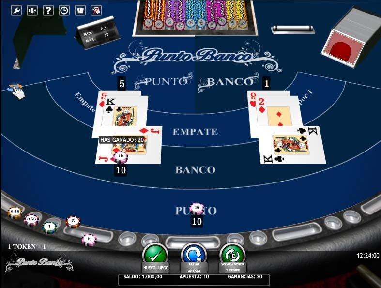 punto banco casino 777