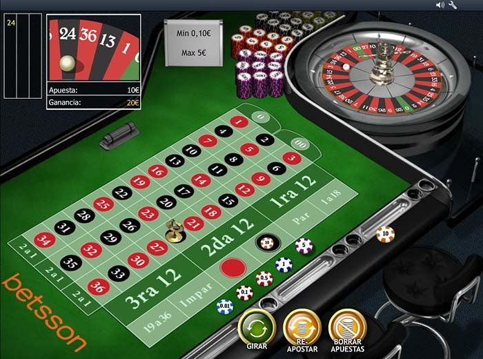 ruleta casino betsson