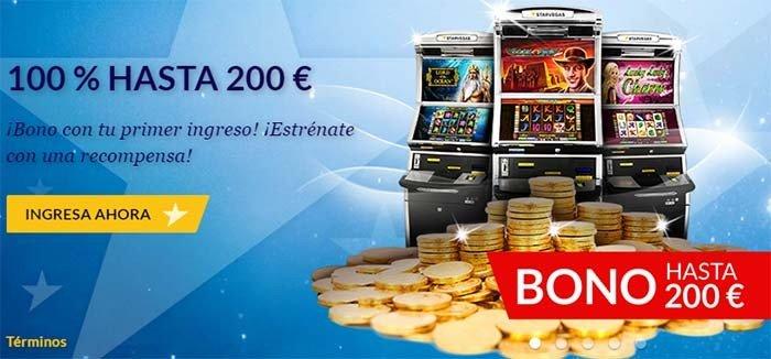 starvegas bono 200 euros