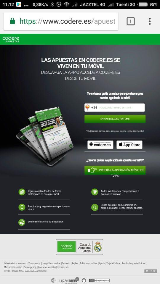 app codere