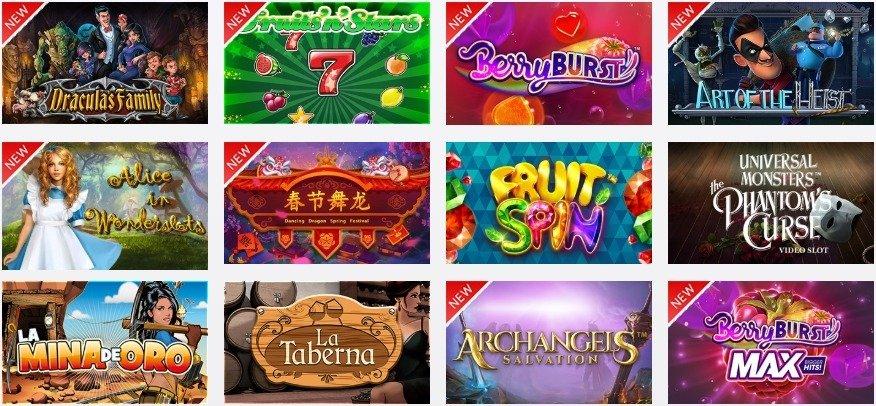 slots tragaperras circus casino