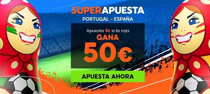 supercuota 888 portugal españa