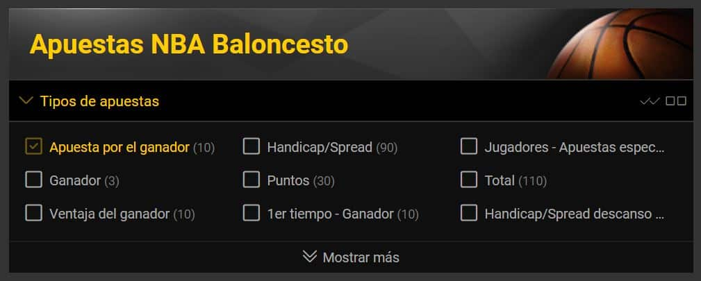 Prédictions NBA bwin