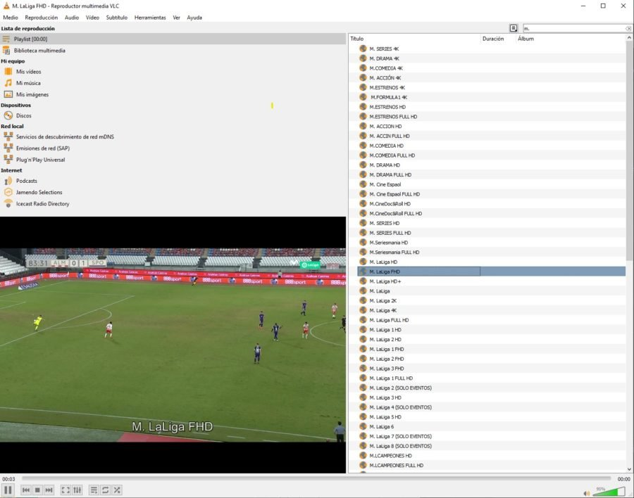 ver futbol online IPTV