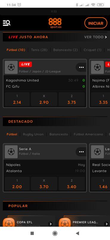 app 888 sport