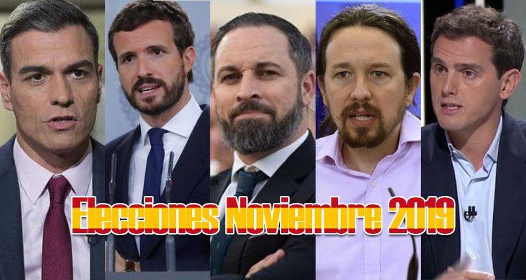 apuestas elecciones noviembre 2019