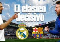 Apuestas pronósticos y cuotas para el clásico: Real Madrid Barcelona