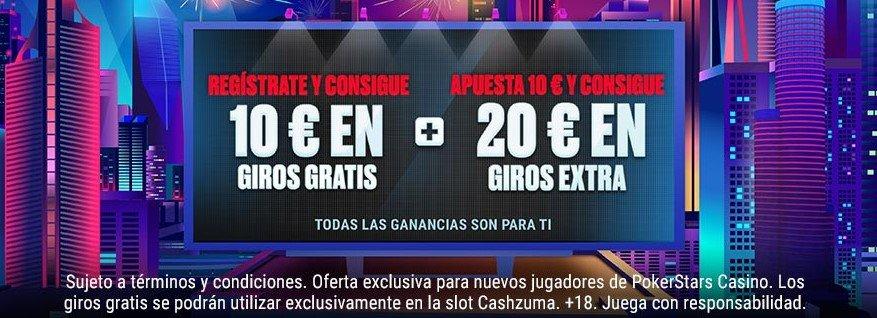 Bono pokerstars casino 2021