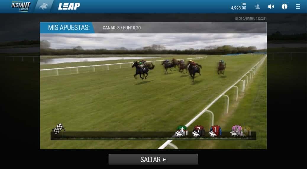 carreras de caballos virtuales