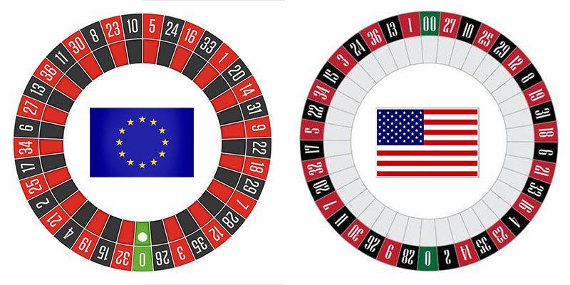 diferencias ruleta europea americana